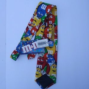 officially licensed m&m's Accessories - M&M Novelty Large Tie